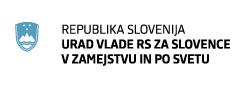 Logo Urad Vlade Republike Slovenije za Slovence v zamejstvu in po svetu